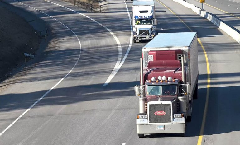 Road Safety Tips For Truck Drivers