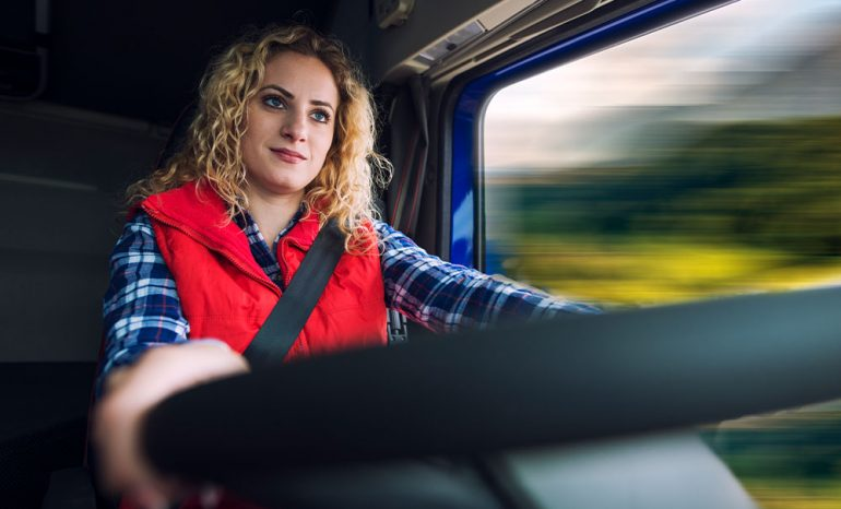 Female Truck Drivers – 9 Tips To Have On Mind When You Hit The Road