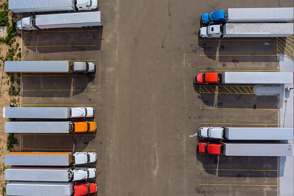 Secure Semi Truck Parking