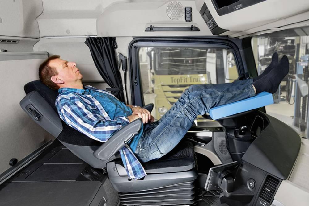 Truck At Night Take A Good Nap
